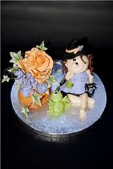 Cake class witch (Betty´s Sugar Dreams) Tags: roses witch hamburg rosen frosch froggy kurs hexe tuggy cakeclass viy bettinaschliephakeburchardt tortenkurs tortendekorieren
