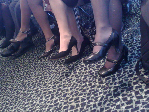 Tory women in heels