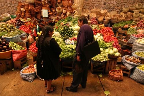 Mercado Municipal, Sucre - Bolivia.