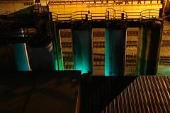Nocturne LA (Echo_29) Tags: rain night losangeles industrial darkness availablelight fromabove railyard traintrack nocturne tanks losangelesriver lario folar sonyr1 ferroart noteveryonewaswatchingthedodgers