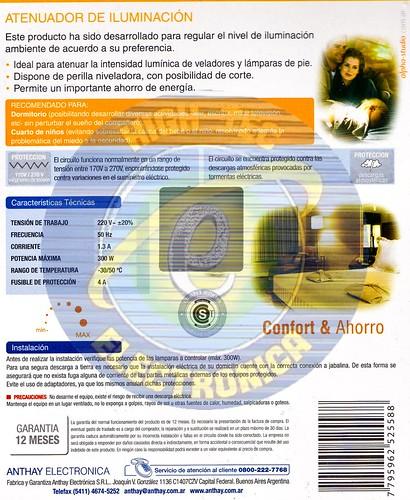 2008.10.07_$ATENUADOR DE ILUMINACION DIMMER PARA LUZ 1.3A 300W DIM100 04 by you.