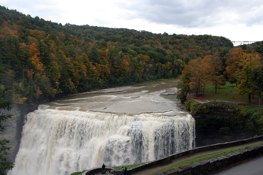 Middle Falls at Letchworth State Park NY