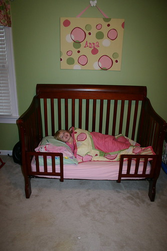 Anna's big girl bed
