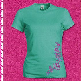 Lotus t-shirt Jade