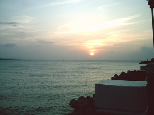 [淡水漁人碼頭] 日落