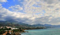 Nerja (Oskarsson) Tags: blue sea sky espaa azul mar spain andalucia cielo malaga hdr nerja axarquia abigfave oskarsson platinumphoto ysplix theunforgettablepictures