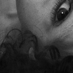 wide awake (Tamsin Swait) Tags: portrait blackandwhite bw selfportrait abstract black eye texture film face self square noir noiretblanc eerie crop squareformat wierd stare awake curve shape cinematic curlyhair filmnoir 500x500 blackfilm ninianlif