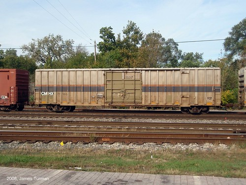 Former Amtrak Freight Car - a photo on Flickriver