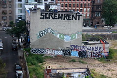 screw everyone (Luna Park) Tags: nyc ny newyork roy brooklyn screw graffiti kent rip roller williamsburg lunapark smells grunts muk armer flos oze108 muk123 guner