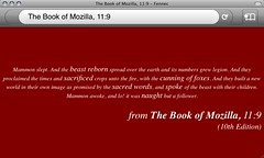 Fennec - The book of Mozilla