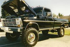 1969 Ford Ranger F-250 4x4 pickup truck (Custom_Cab) Tags: 1969 ford ranger f250 4x4 truck pickup four wheel drive truckshow trucksonlyshow pick up black 4wd 4