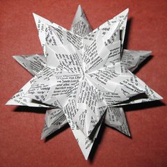 Bascetta (Yureiko) Tags: paper star origami stern papier paperfolding kusudama bascetta papierfalten