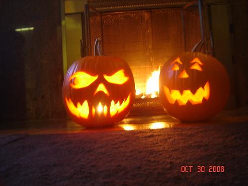 Halloween Pumpkins 2008