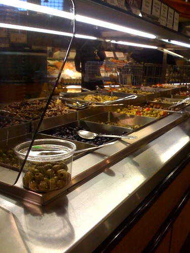 Olive Bar at Roche Bros.