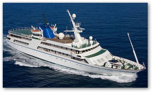 "Saddam Hussein's Yacht: ""The Ocean Breeze"""