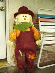Scarecrow by the Door
