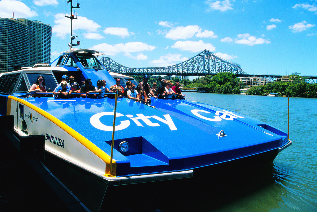CityCat on Brisbane River