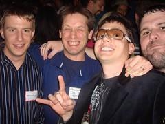 Brian, Brian, Jordan & Jeremy @Zappos Party