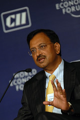 B.Ramalinga Raju - India Economic Summit 2008