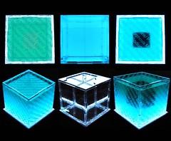 Cubes x2 view (BURNS.R) Tags: art technology science minimal cube mystical cubes spiritual minimalist cubed electroluminescent mysticism