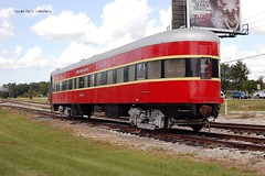 """New York Central Railroad, """"Maumee River"""" Baltimore & Ohio Railroad, Florida Central Railroad, """"Sam Pinsly,""""  Florida, Plymouth (4,244) (EC Leatherberry) Tags: railroad florida sleepercar observationcar businesscar baltimoreohiorr newyorkcentralrr floridacentralrr sampinsly"""