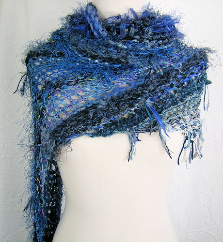 Yet Another Blue Shawl
