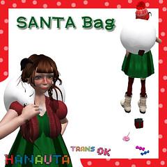 HANAUTA*SANTA Bag