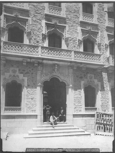 Hotel Castilla (Toledo) en 1890 poco antes de su inauguración. Foto Casiano Alguacil