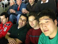Hockey Trio (arthurohm) Tags: hockey nhl dc washington eric montreal canadiens capitals mahan nationalhockeyleague verizoncenter