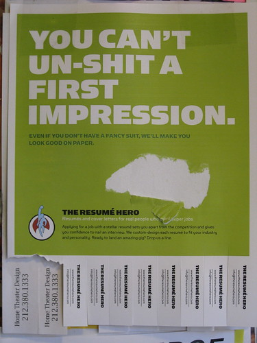 You Can't Un-Shit a First Impression