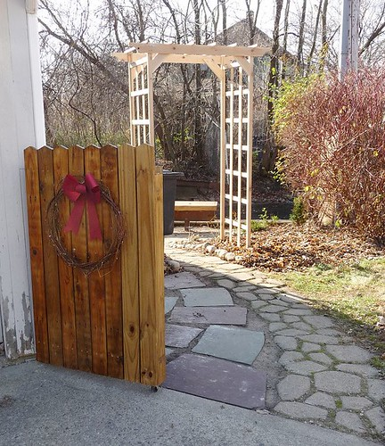 Gate and Arbor
