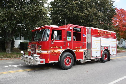 Guilford, VT 90 Engine 1 (08 Pierce Contender PUC)