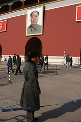 (MattTownsend) Tags: life china travel beijing police mao prc forbiddencity tiananmensquare maozedong mrmao