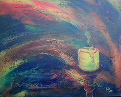 candle (Ivan Tirado) Tags: art fine paintings
