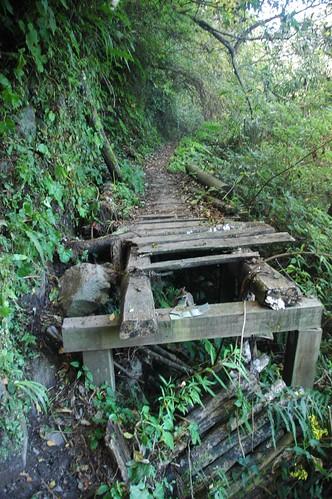 之前的橋,大多已經損壞