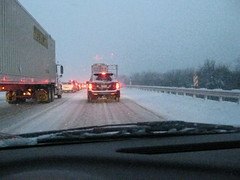Snowy Gridlock