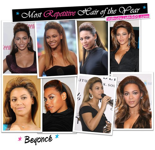 most repetitive hair - beyonce by you.