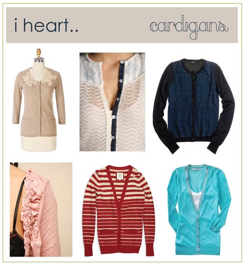 i heart .. cardigans