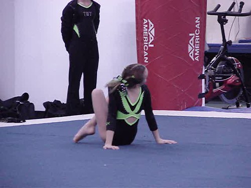 Jenna Gymnastics Floor Exercise! The Song is Wake Me Up Before You Go-Go!  By WHAM!