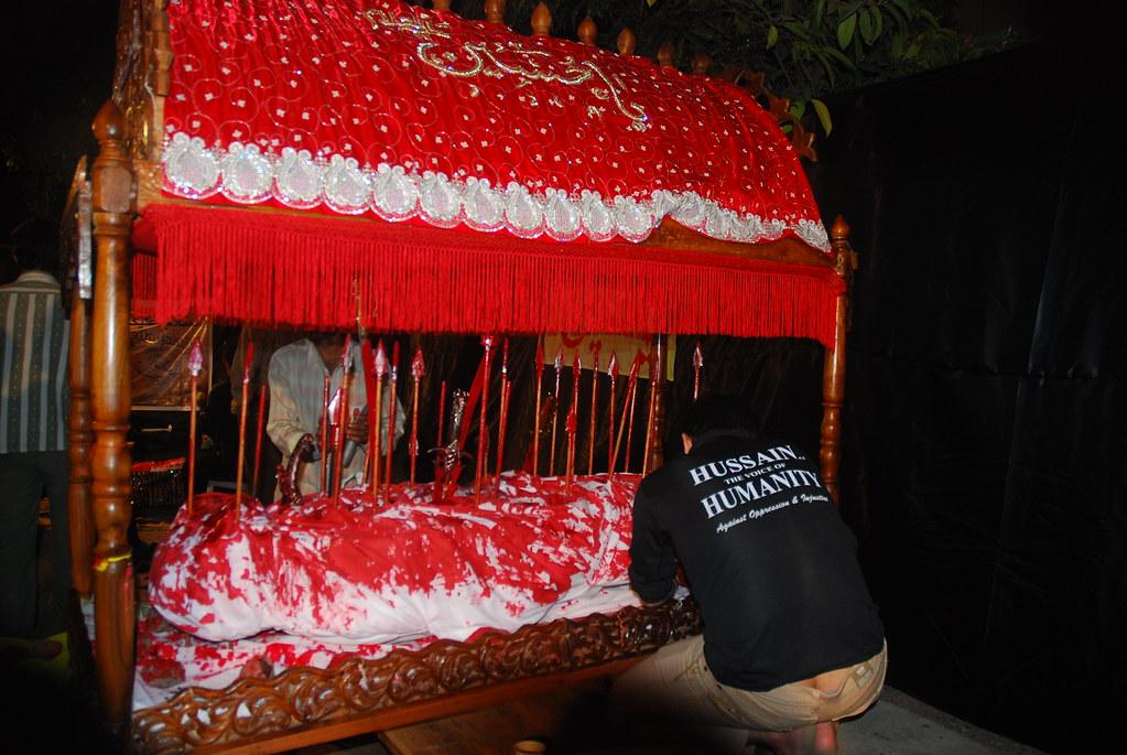 Mourning of Muharram for Imam Hussain