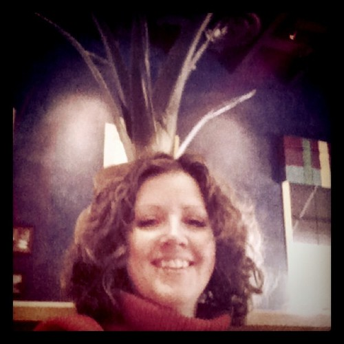 Happy Birthday (almost) to me with an aloe head.