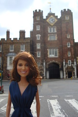 Princess Catherine Engagement Doll at St James Palace (Princess Catherine Doll) Tags: london toy doll princess kate royal tourist catherine british middleton arklu