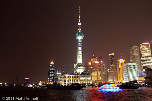 Pudong new area, Shanghai by Brin d'Acier