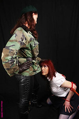 karen chessman:green beret domina.uk 2011 (Karen Chessman: In Trans Umbraculis Fetish Luminis) Tags: france leather fetish army photography glamour uniform domination karen tgirl transgender gloves tranny transvestite trans mistress transexual crossdresser leder kinky slave dominatrix cuero cuir fetisch travesti chessman gants maitresse transgenre karenchessman