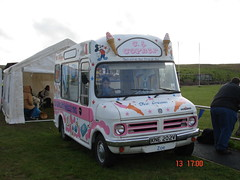 1979 Bedford CF Ice Cream Van