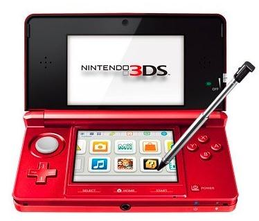 Nintendo Flame Red 3DS