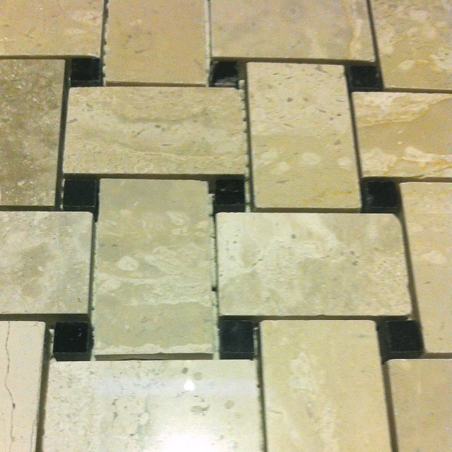 Vestibule Renovation Part 2: Installing the Tile In Our Tiny Room