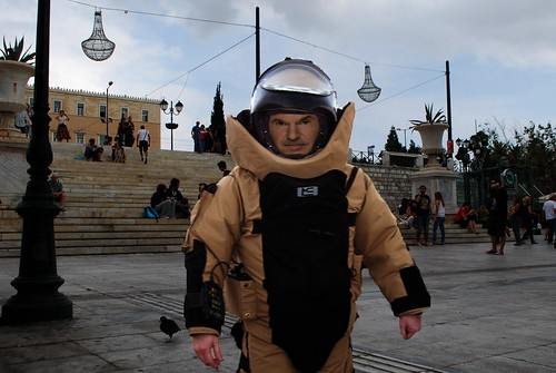 Unable to form government Greek PM to address rally in Syntagma Square by Teacher Dude's BBQ