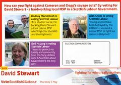 Labour Party Scottish Election Leaflet, 2011 (Scottish Political Archive) Tags: party islands scotland highlands election scottish msp stewart labour publicity campaign 2011
