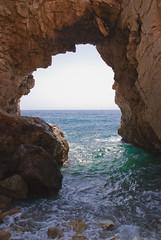 Cabo de Gata (Jonybraker) Tags: espaa paisajes beach night noche mar spain cabo playa abandon lugares gata iglesias nocturnas almeria paises temas cabodegataalmeria